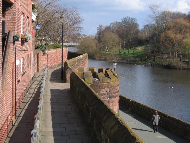 Városfalak, Chester