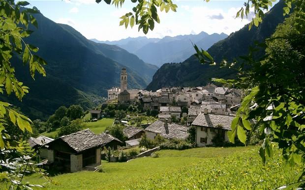Svájc legnagyobb kantonja: Graubünden