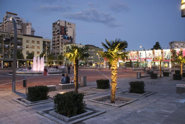 Köztársaság tér, Podgorica