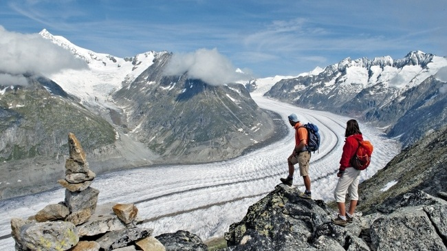 Aletsch gleccser