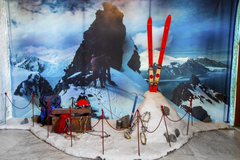 Antarktisz múzeum Szófiában