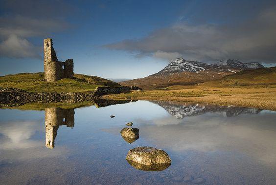 Loch Assynt és Ardvreck vár