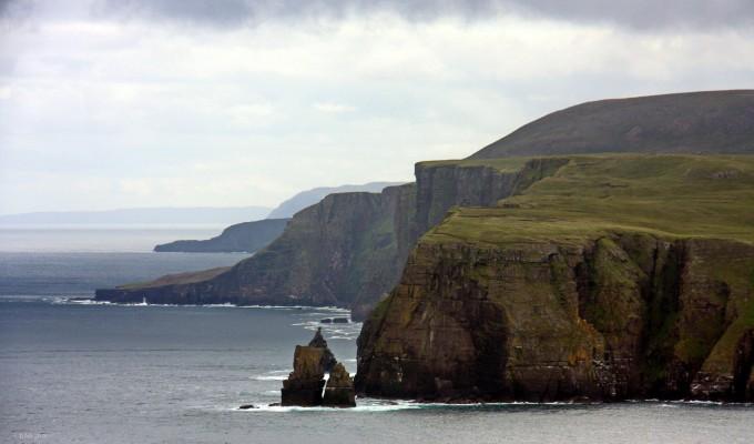 A Clo Mor sziklák és a Wrath-fok
