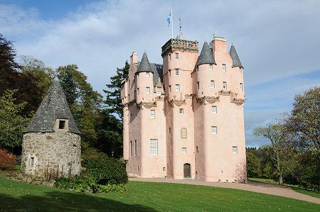 Craigievar kastély