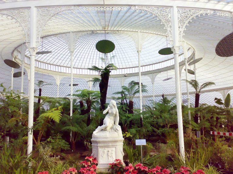 Kibble Palota és a Glasgow-i Botanikus Kertek