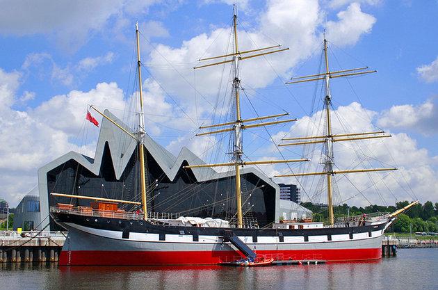 Folyóparti Múzeum és a Tall Ship