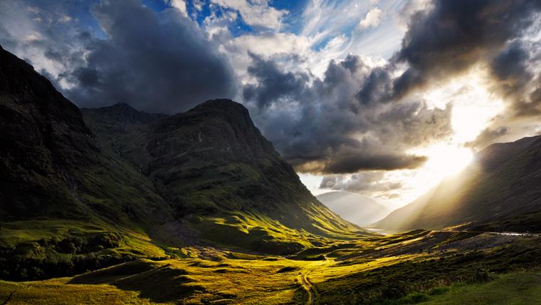 Glencoe völgy