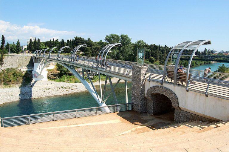 Moszkva híd, Podgorica