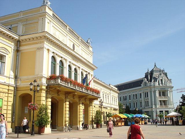 Nyíregyháza belvárosa