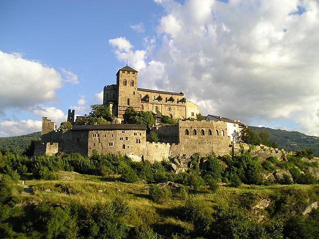 Valère bazilika és kastély