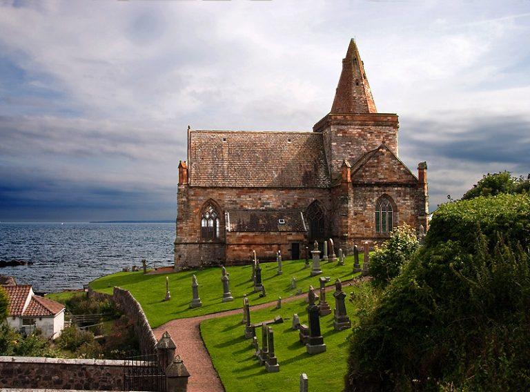 St Monans gótikus plébániatemploma