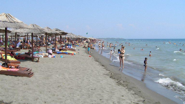 Nagy strand (Velika Plaža), Ulcinj