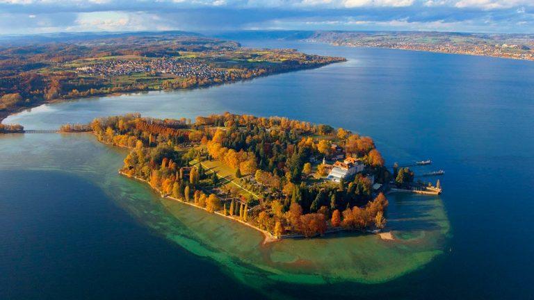 Mainau, Boden-tó