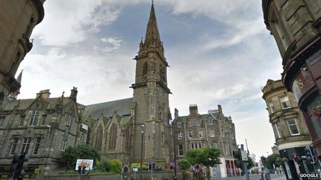Szent Pál katedrális, Dundee Óvárosa