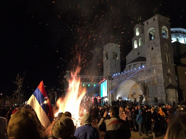 Karácsony Podgorica városában