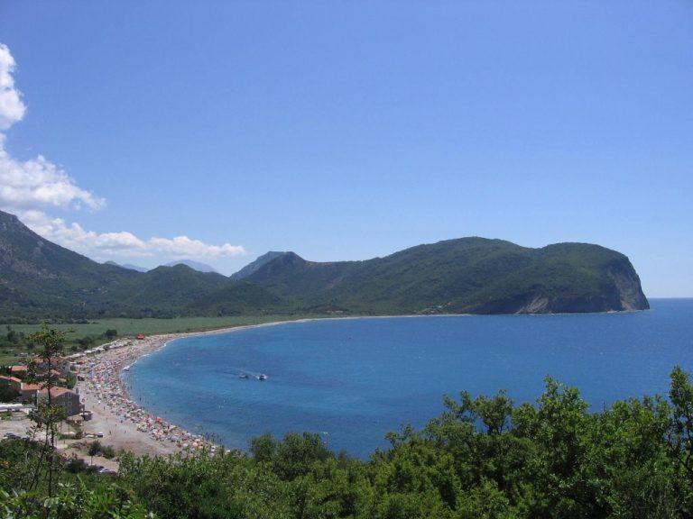 Buljarica strand