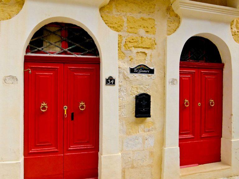 Gozo-szigetén a bejárati ajtón hagyják kulcsot