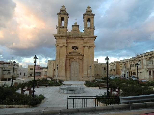 A régi Szent Ubaldesca plébániatemplom