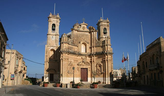 Għarb plébániatemploma
