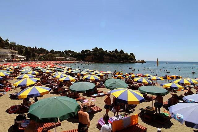 A Kis strand (Mala Plaža)
