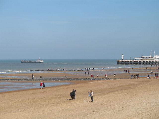 Ostend tengerpartja