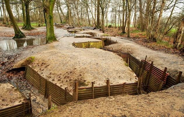 Csataterek Ypres környékén