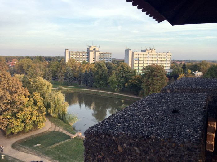 Kilátás a vártoronyból
