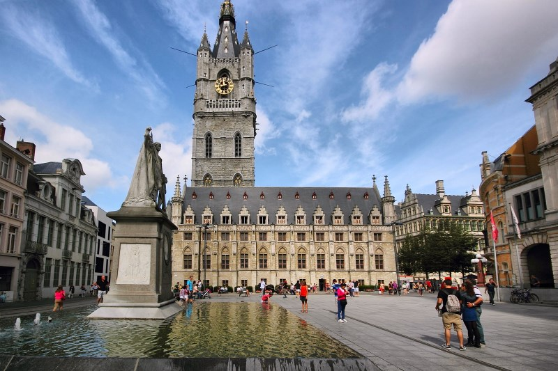 Harangtorony, Gent