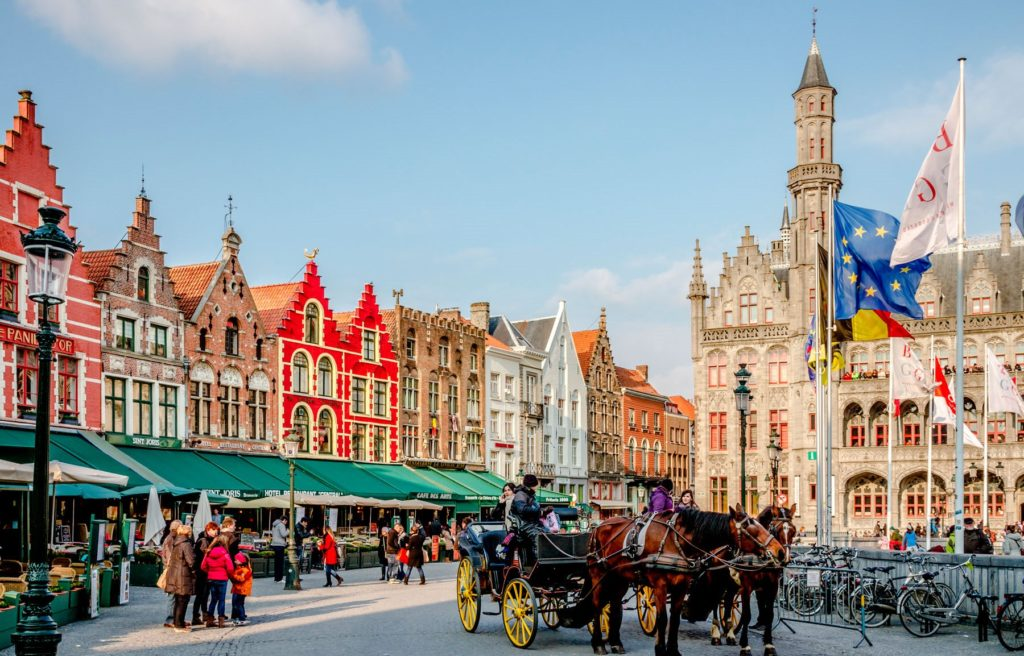 Brugge főtere